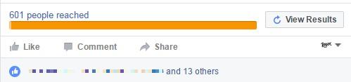 Результативность рекламы в Фейсбуке